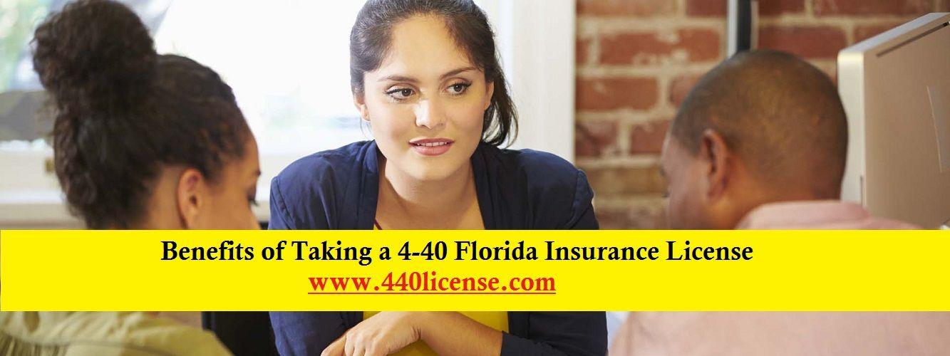 Benefits Of Taking A 4 40 Florida Insurance License Florida