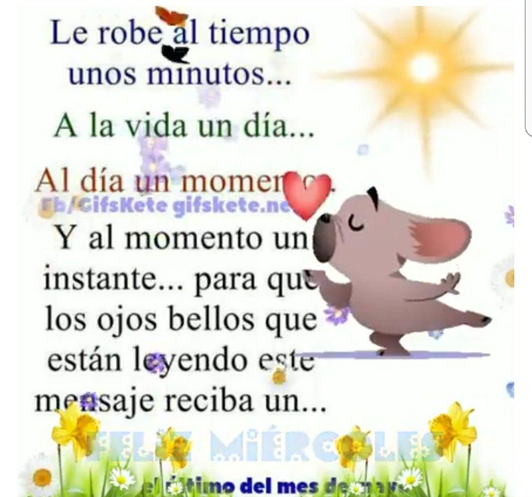 Buen Dia Oraciones Buenos Das Dias Mi Amor Amigos Hermosa Buen Da