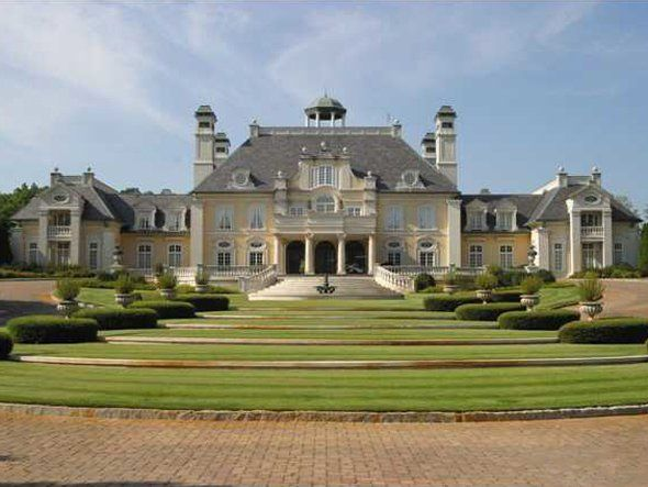 The 10 largest homes in america big mansions square for Biggest house in usa