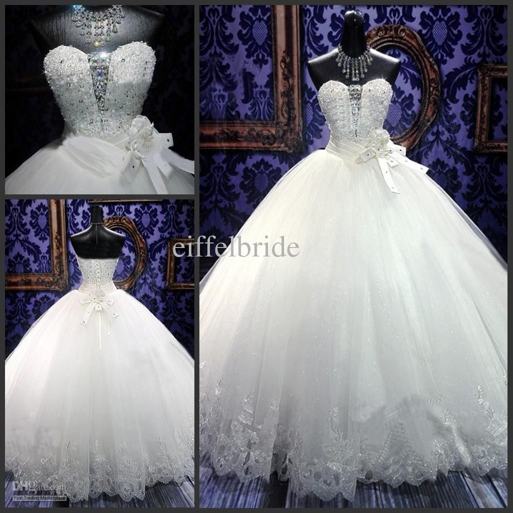 Ball gown wedding dress with bling  princess ball gown wedding dresses with bling  wedding dresses for
