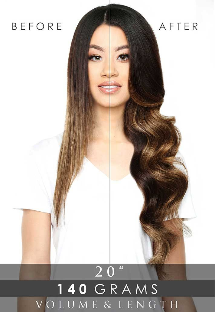 Deluxe Clip In Hair Extensions 20 Beauty Works Shop Now