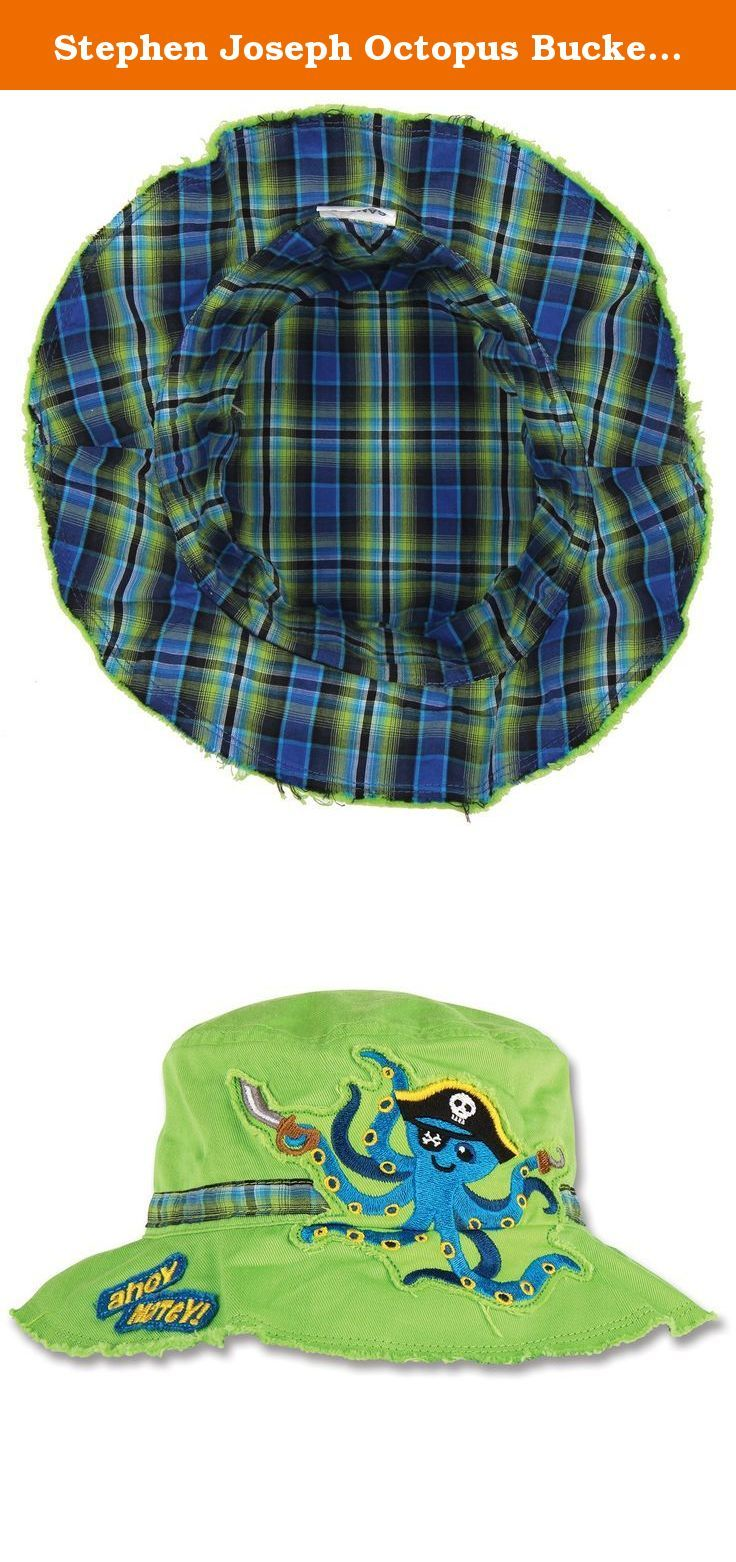 9e33fbfab8a Stephen Joseph Octopus Bucket Hat. At the pool or at the playground ...