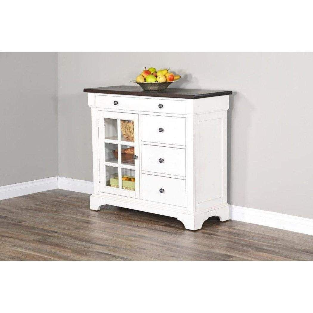 Carriage House Server Small Sideboard Cabinet