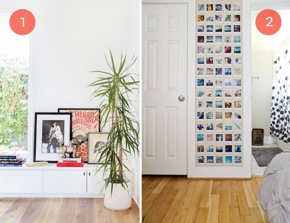 Roundup: 10 Art Ideas That Won\'t Put Holes In Your Walls | Walls ...