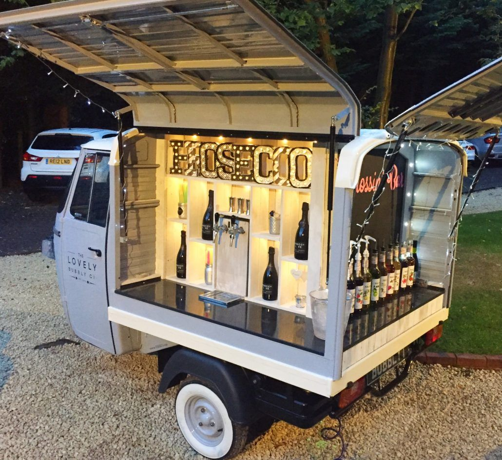 Gallery The Lovely Bubbly Co. Prosecco van, Food vans