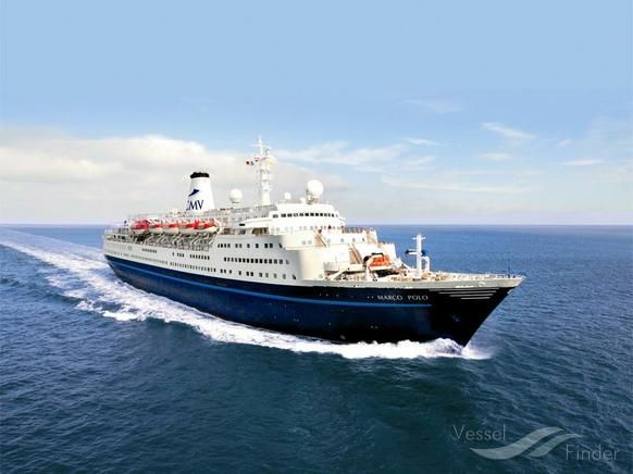 MARCO POLO, type:Passenger (Cruise) Ship, built:1965, GT:22080, http://www.vesselfinder.com/vessels/MARCO-POLO-IMO-6417097-MMSI-308693000
