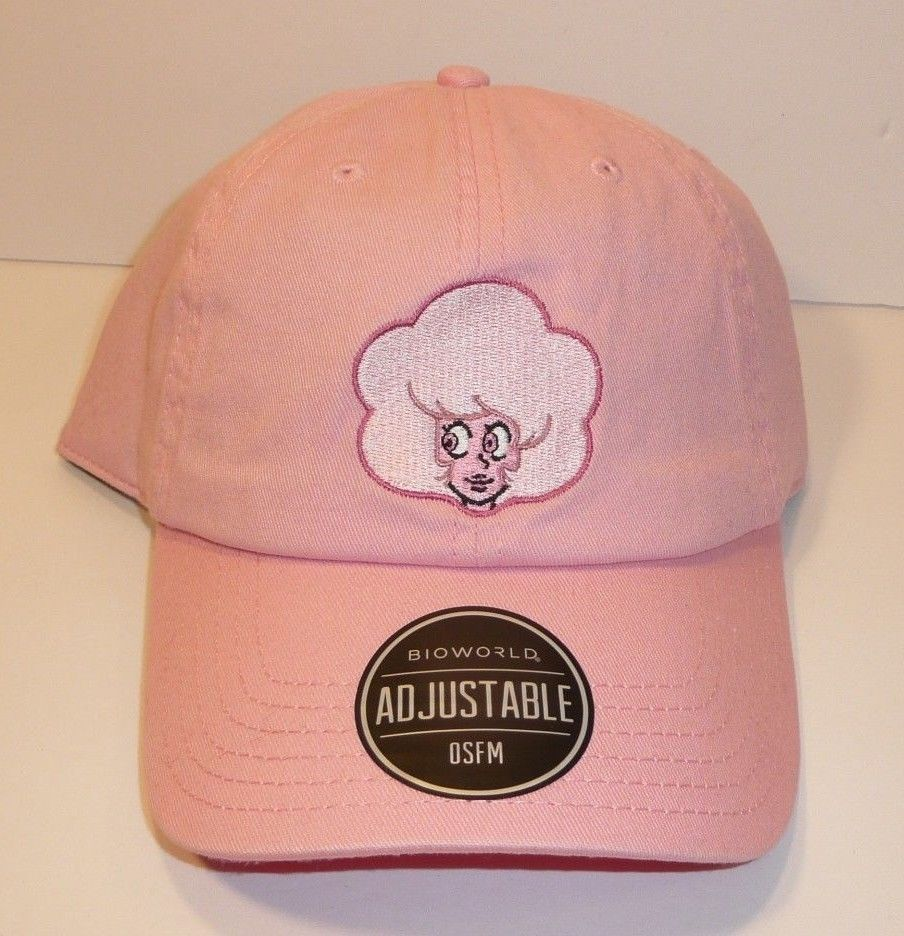 NEW Steven Universe Pink Diamond Girl Dad Hat Cap Officially Licensed Bioworld