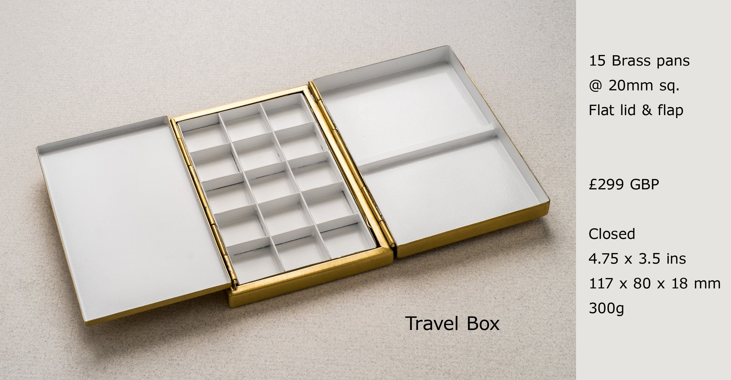Brass Pans Brass Pans Travel Box