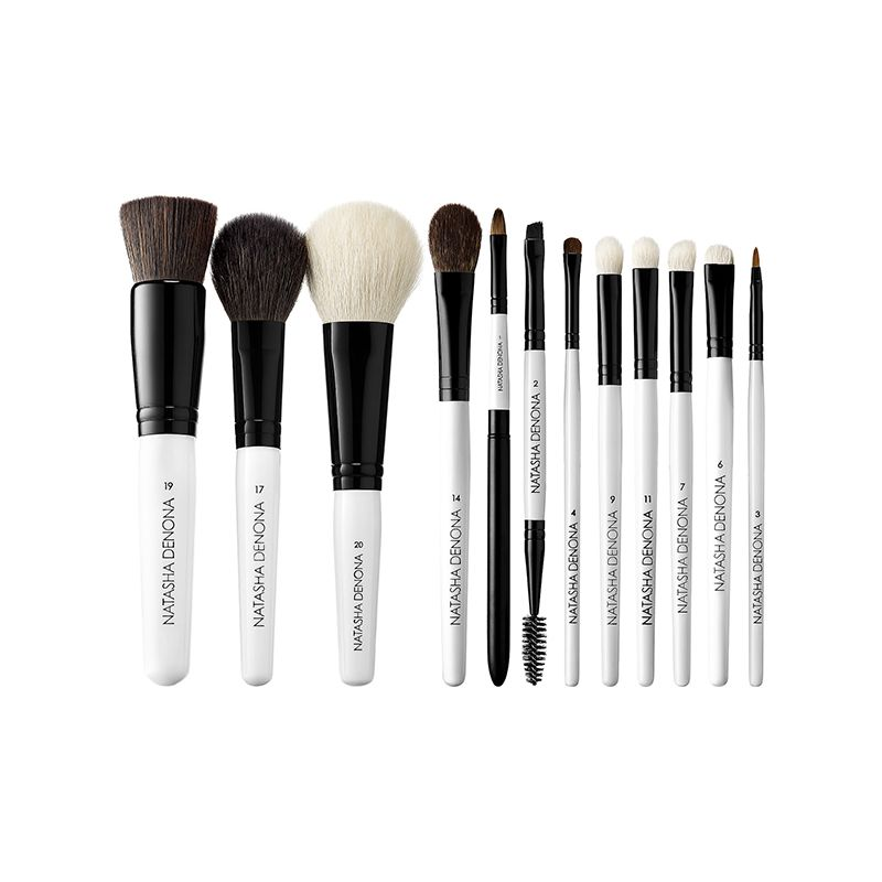 5 Celebrity Makeup Artist Tips That Make Getting Ready So Much Easier Makeup Brush Set Makeup Artist Tips Luxury Makeup