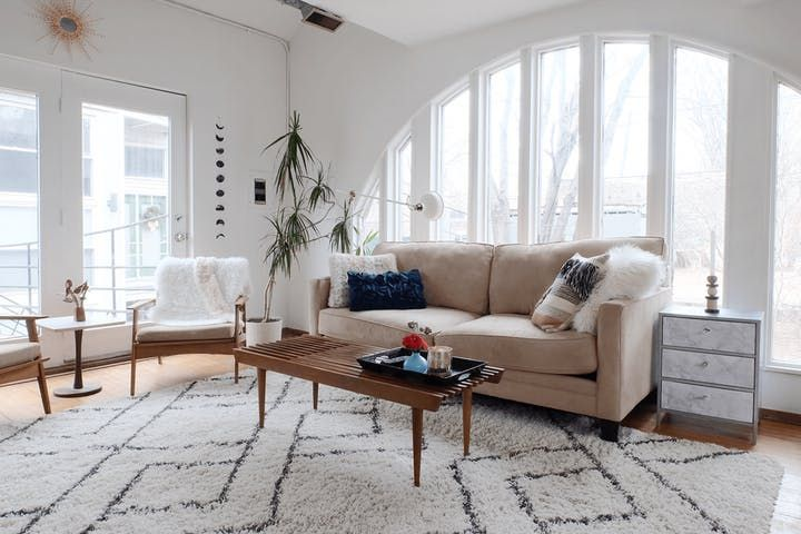 A chicago home where repurposed restored items rule