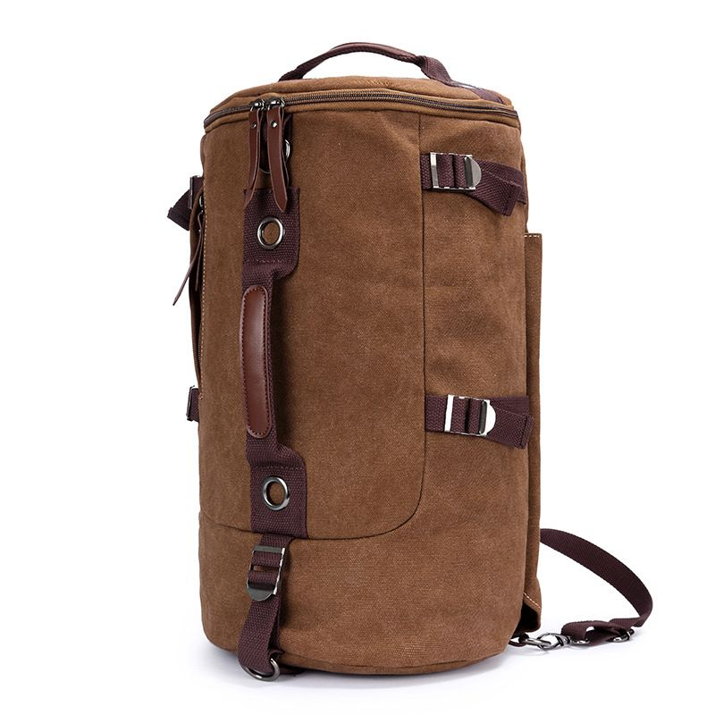 5426a8a823 2017 Brand High Capacity Travel Bag New Arrival Cylinder package  Multifunction Rusksack Male Fashion Backpack