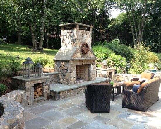 Pin By Roby Az On Fireplace Outdoor Fireplace Designs Backyard