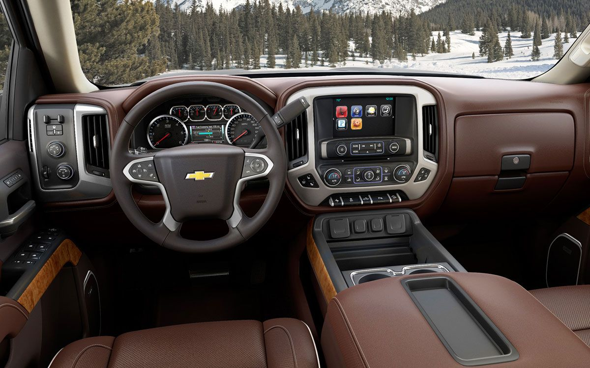 They Have Nailed This Beautiful Truck Interior Silverado High Country Chevy Silverado Chevrolet Silverado