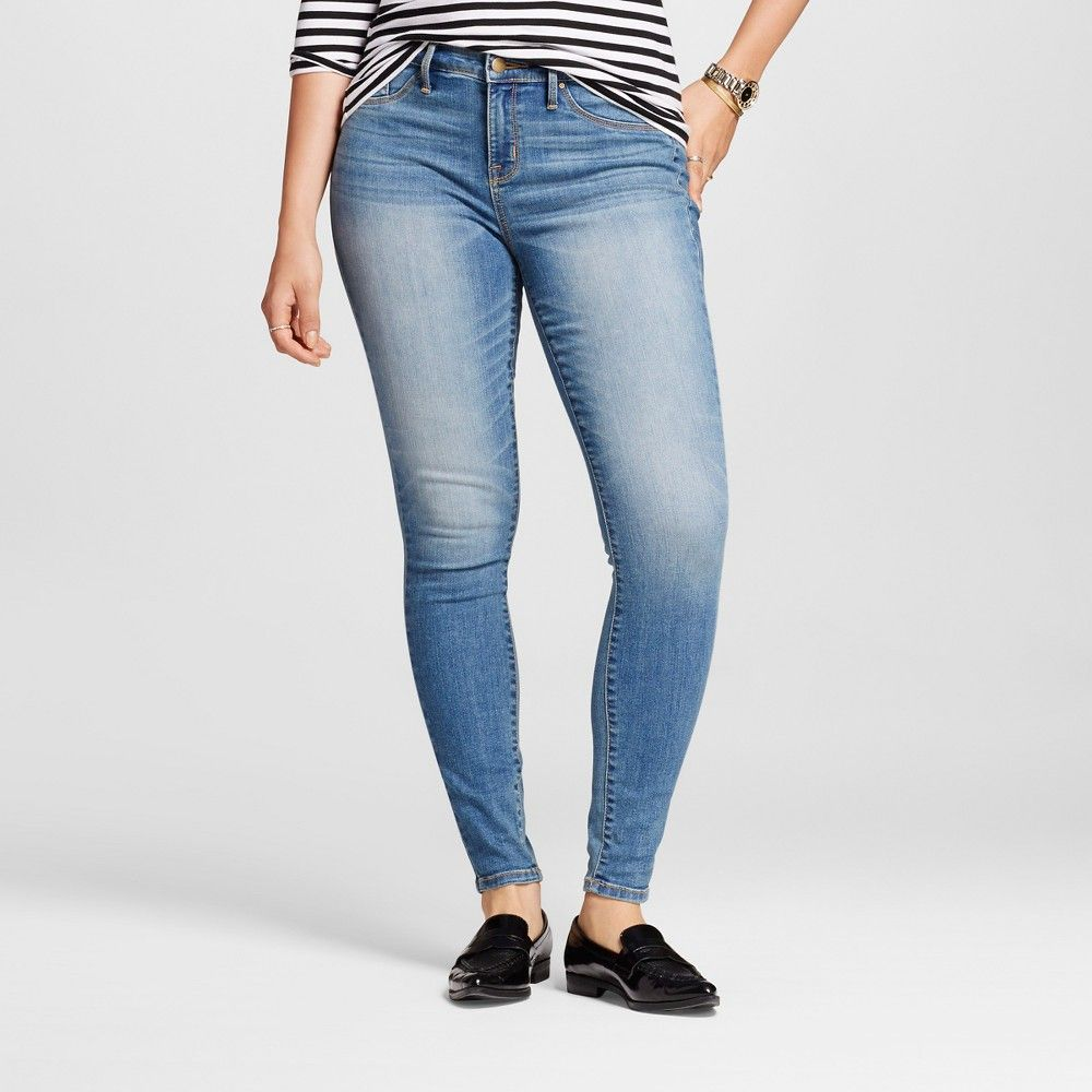 cdca87f6167b2 Women's Mid-rise Jegging (Curvy Fit) - Mossimo Light Wash 12L, Size: 12  Long, Blue $27.99