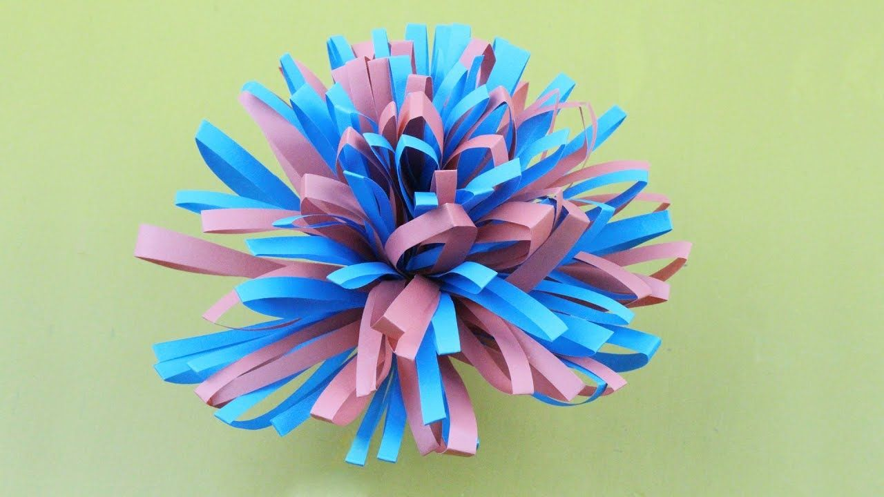 Origami Flower Easy To Make By Rolling Easy Origami Flower For