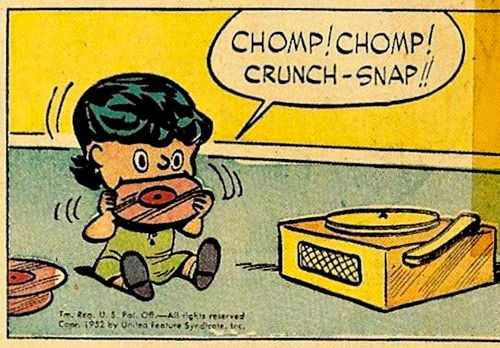 comicallyvintage:  Don't try this at home, kids.