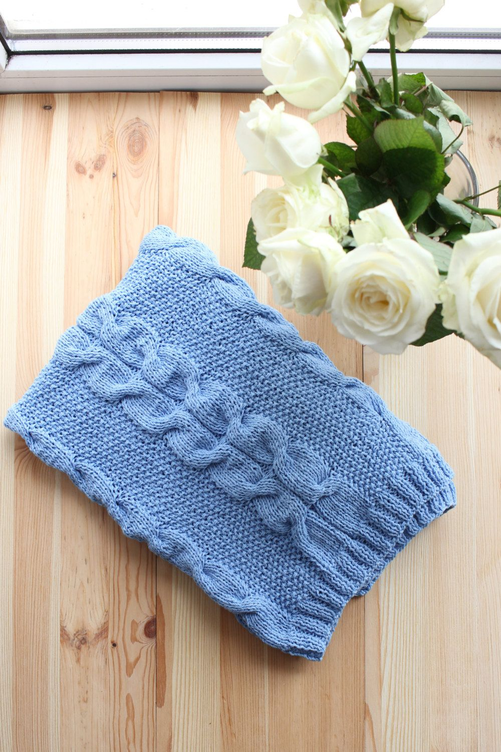 Baby boy blanket knit baby blanket cable knit blanket blue throw baby boy blanket knit baby blanket cable knit blanket blue throw blanket car seat blanket blanket bankloansurffo Gallery
