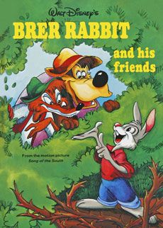 Brer Rabbit And His Friends Disney Book Club Picture Song Disney Books