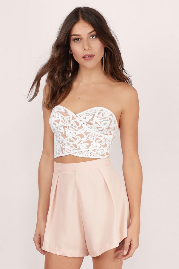 fd7561e4d05a5 Desiree Crochet Crop Top at Tobi.com  shoptobi