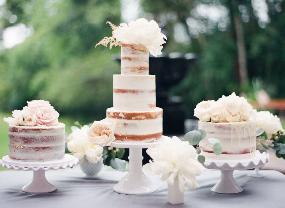 Rainy Day Charcoal And Cream Backyard Garden Wedding In Texas