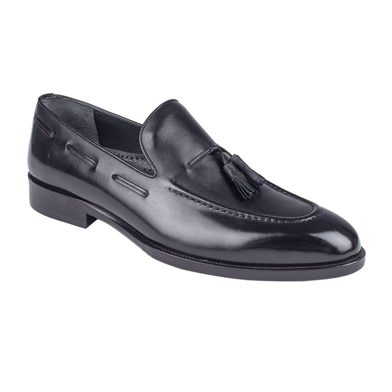Classic Loafer Black Antique In 2021 Mens Fashion Shoes Loafers Black Dress Shoes Men [ 1500 x 1500 Pixel ]