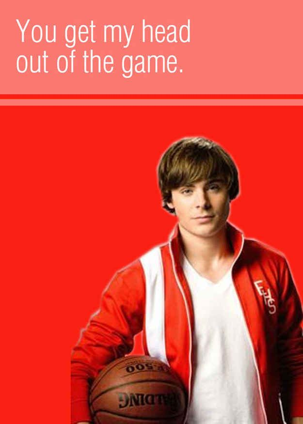 20 High School Musical Valentines To Give To Your Boo High School Musical High School Musical 3 Disney High Schools
