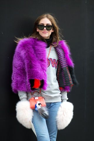 104 of the best street style spotted so far at New York Fashion Week.