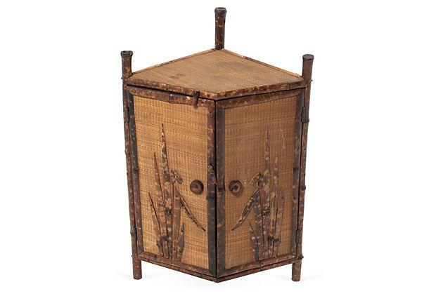 Superieur Bamboo Corner Cabinet On OneKingsLane.com FROM: San Franciscou0027s Antique U0026  Art Exchange Sweet