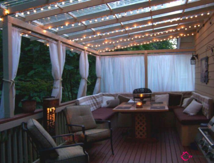 Arka Bahçenizin Avlusunu Düzenlemek için 36 Harika Fikir #balkonideen