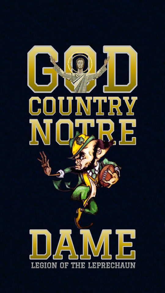 Notre Dame Iphone Android Wallpaper For Your Smart Phone Save And Download Image From Pinte Notre Dame Football Notre Dame Football Stadium Football Wallpaper