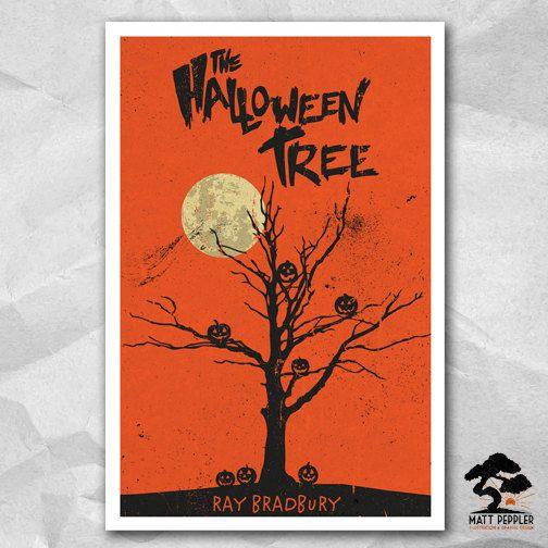 Halloween Tree 12 x 18 Inch Poster - Ray Bradbury