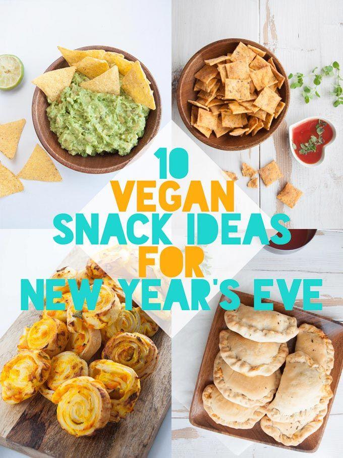 20 Vegan Snacks For New Year S Eve Elephantastic Vegan Vegan Snacks New Years Eve Snacks Eat