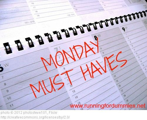 RUNNING FOR DUMMIES: Monday Must Haves: FOOD 6 Foods I MUST HAVE!
