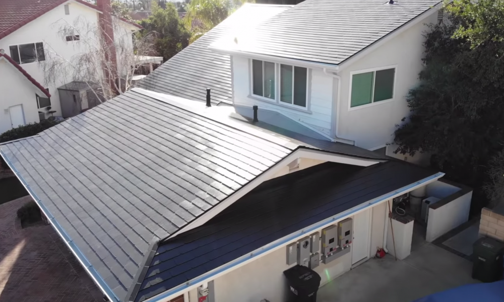 These Are Tesla S Stunning New Solar Roof Tiles For Homes Solar Panels Roof Tesla Solar Roof Solar Tiles