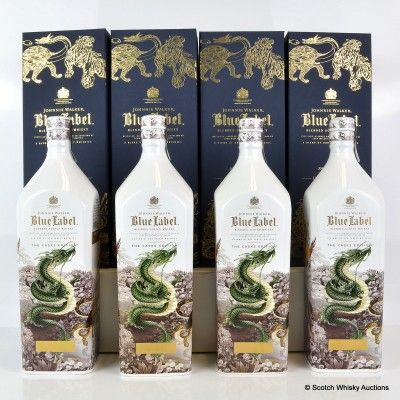 ohnnie Walker Blue Label Sa-Shin-Do Limited Edition 75cl X 4