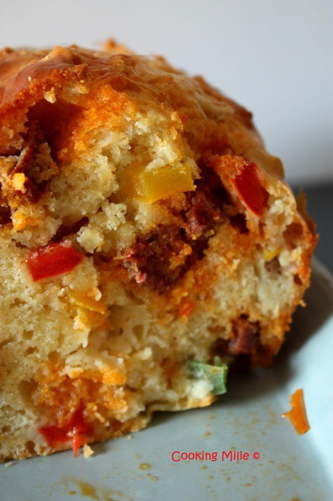 Cake Poivron Vert Chorizo