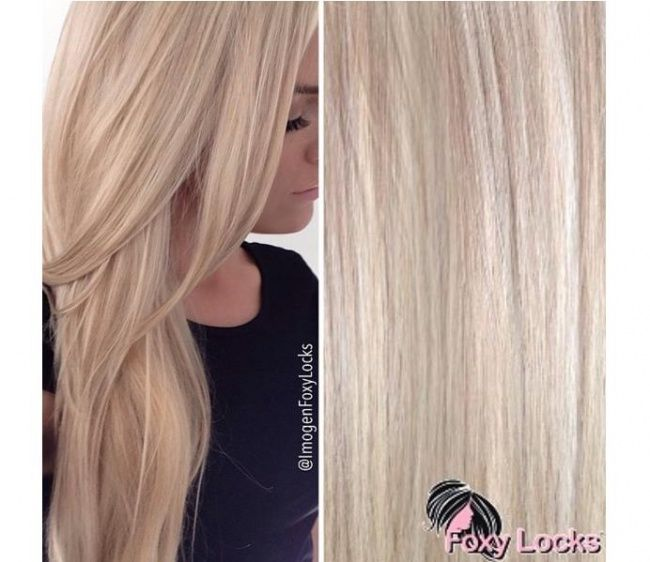 BLONDE HAIR SHADES LATTE