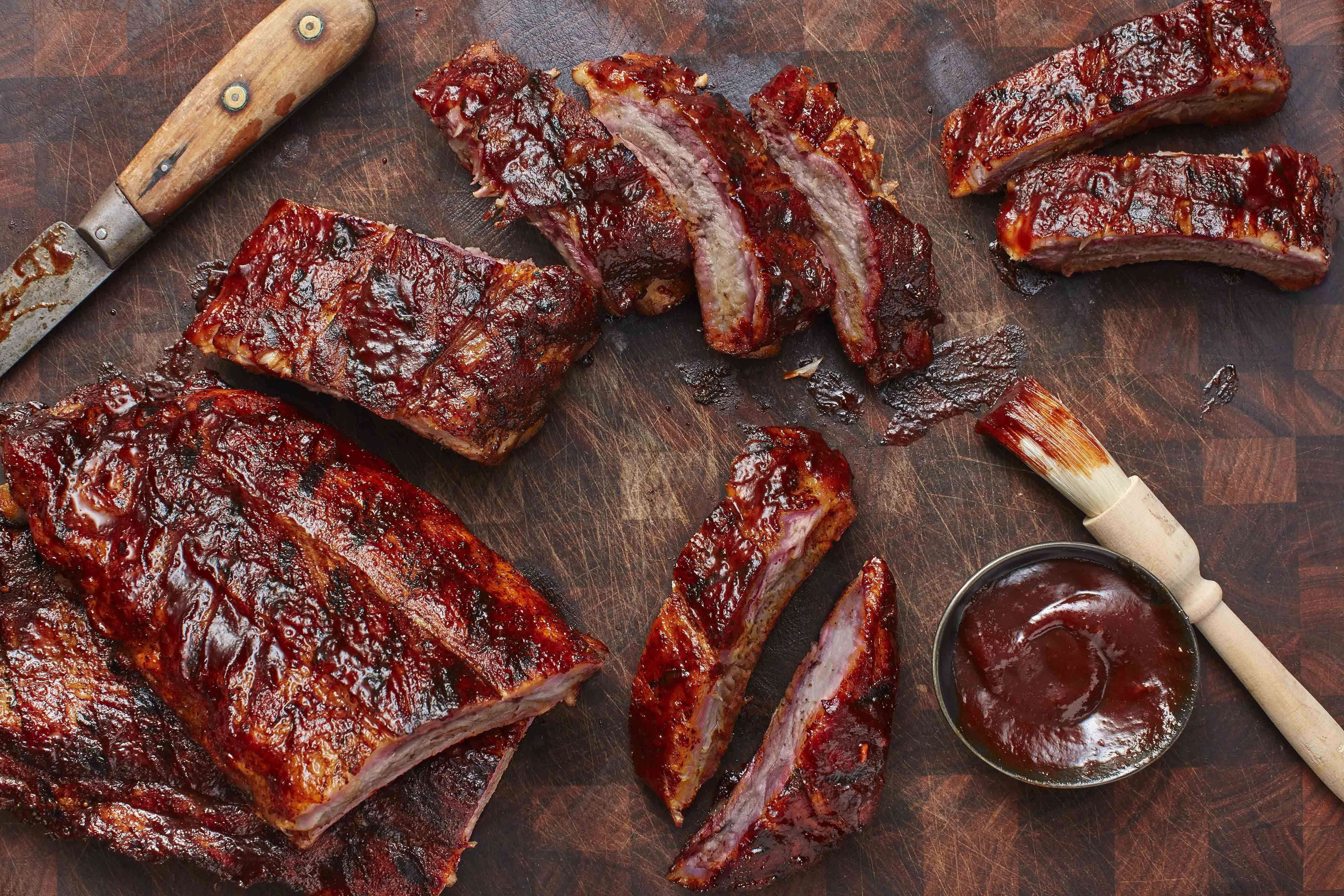 How To Easily Gas Grill The Best Pork Ribs Recipe Ribs On Grill Pork Ribs Grilled Pork Ribs