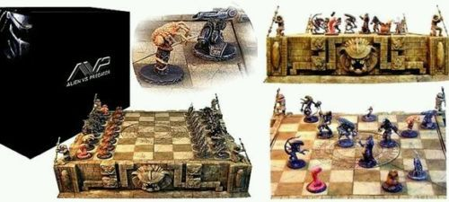 Sota aliens vs predator #chess set - #limited edition #***rare***,  View more on the LINK: http://www.zeppy.io/product/gb/2/281818654889/