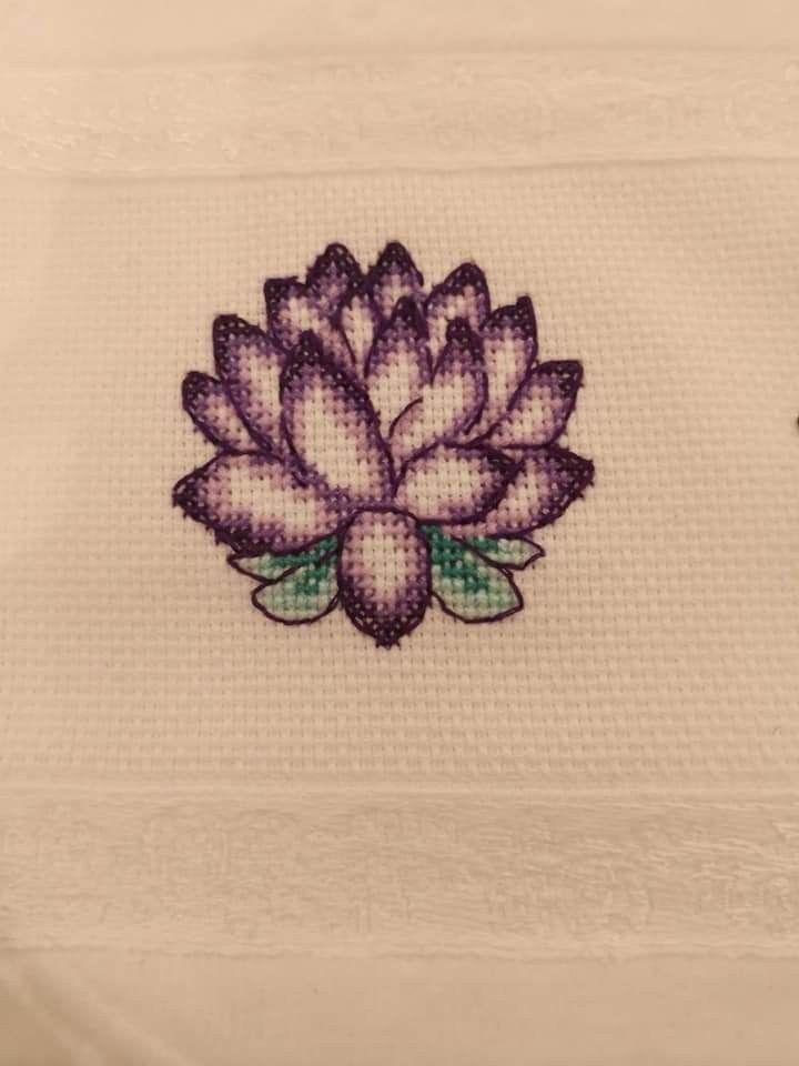 Cross Stitch Flowers Tattoo Cross Stitch Cross stitch flowers tattoo  cross stitch flowers pattern cross stitch flowers simple cross stitch flowers border cross stitch fl...