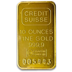 Gold Bars 10 Oz Bullion From Blanchard