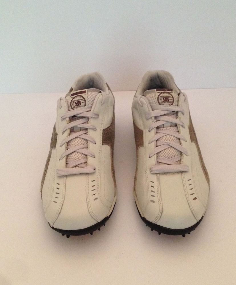 Spikeless golf shoes, Leather sneakers