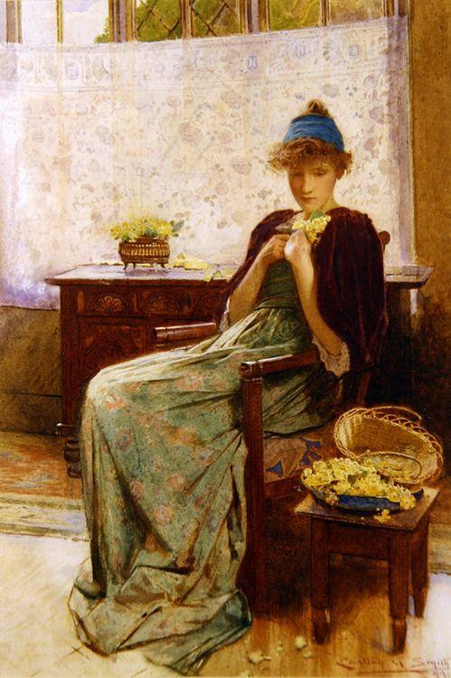 Primroses - Carlton Alfred Smith 1899