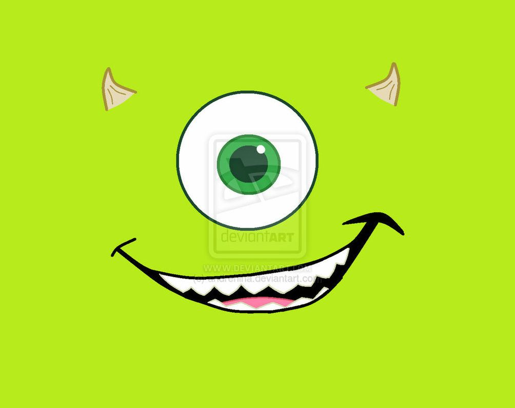 Pics For > Mike Wazowski Wallpaper | After School ...