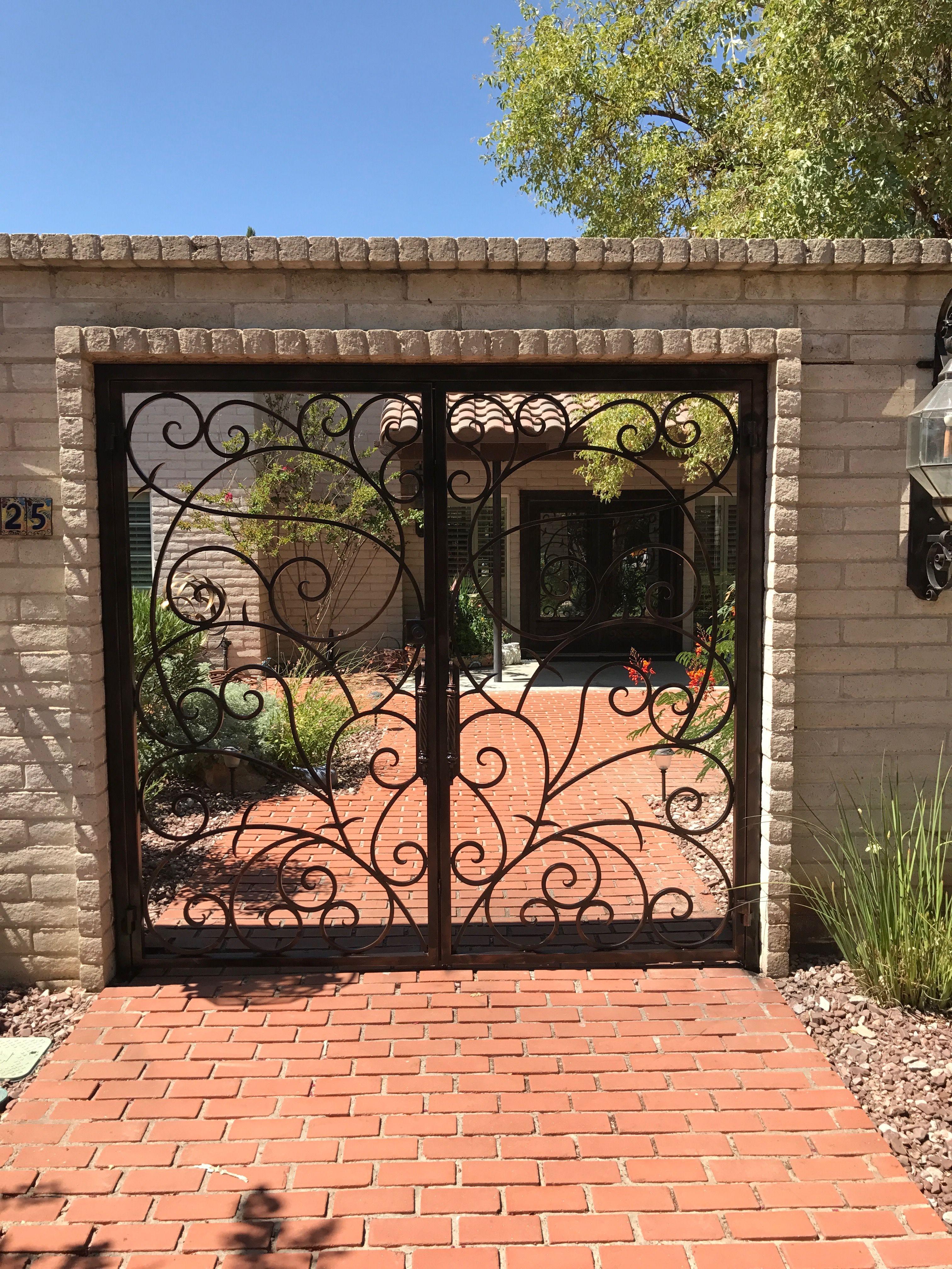 Irongate Door Elpaso Texas Forgediron Westtexas Southwest