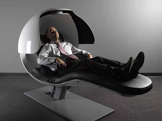 Pin By Laqadasic On Wants Futuristic Bed Pod Bed Massage Chair