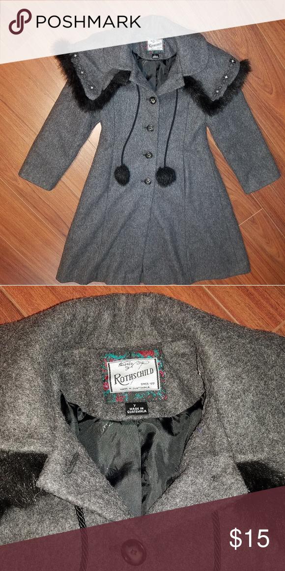 5c4cd4091 Nice Girls Coat NWOT Rothschild coat size 7 never worn Rothschild Jackets &  Coats