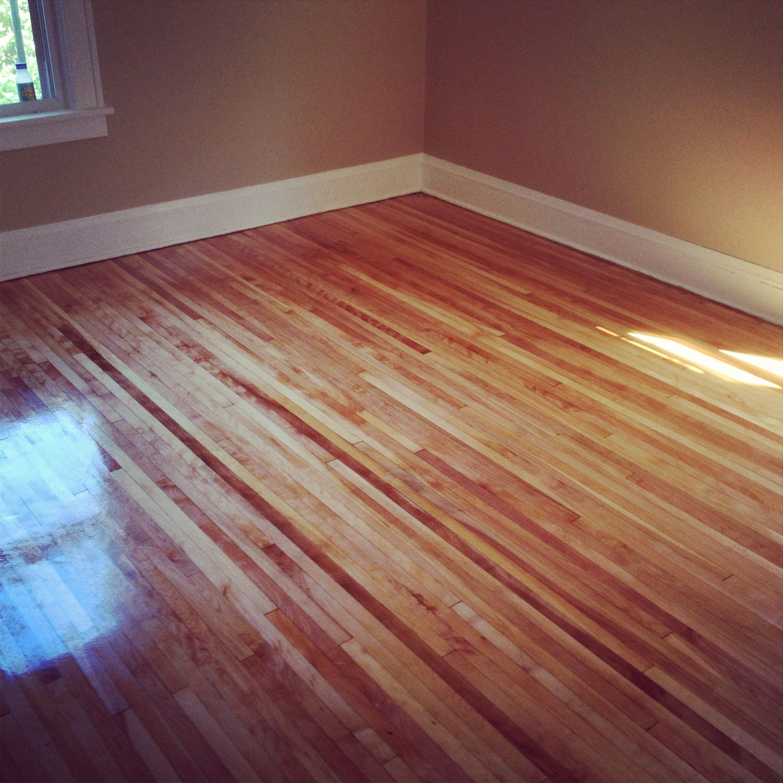 Sand Refinish Maple Hardwood: Maple Hardwood Floors Refinished In South Minneapolis MN