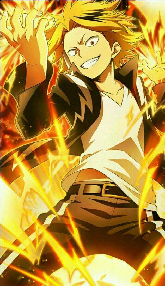 Denki Kaminari My Hero Academia Hero Wallpaper My Hero Human Pikachu