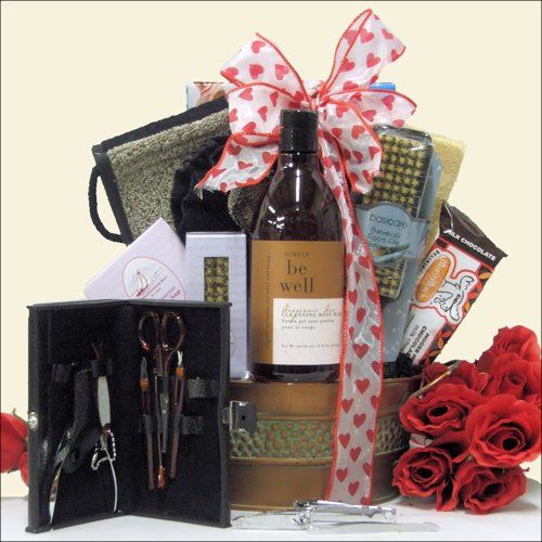 Just For Men: Relaxing Valentine's Day Spa Gift Basket Price ...